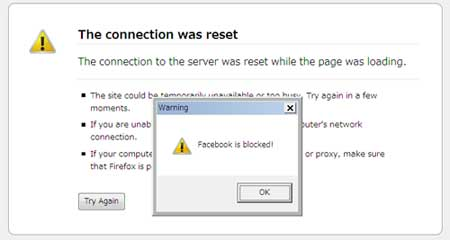 how to go facebook bloked