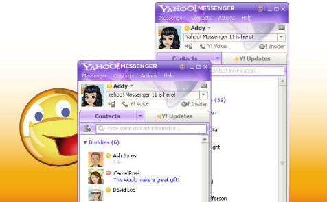 Image result for zaman yahoo messenger