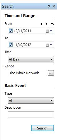 Basic Event Search